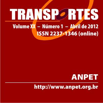 TRANSPORTES, n. 1, v. 20, 2012